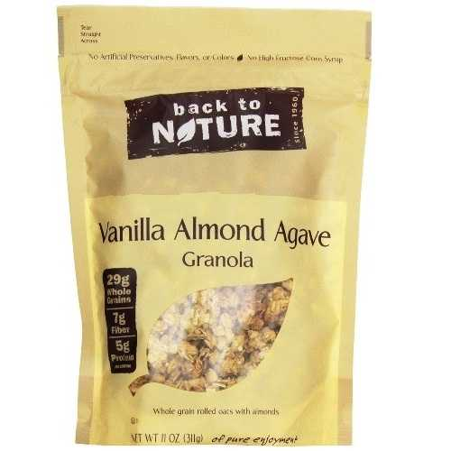 Back To Nature Vanilla Almond Agave Granola (6x11 OZ)
