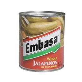 Embasa Whole Jalapenos (12x26OZ )