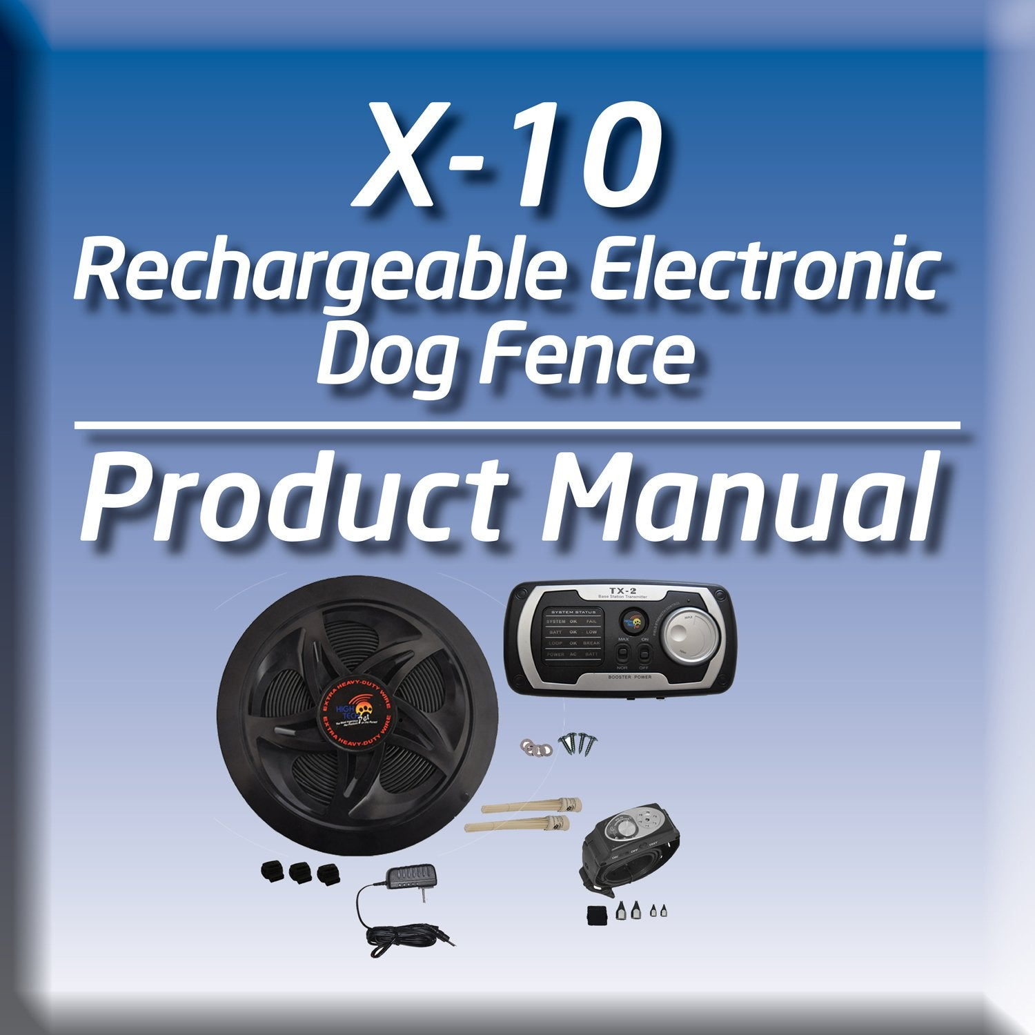 Having trouble with your electric fence? Try our invisible dog fence manual