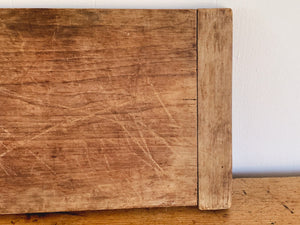 Vintage Country Wooden Cutting Board | Large Rustic Serving Platter | Antique Cheese Bread Board | Farmhouse Kitchen Decor