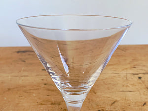 Pair of Walther Glas Nadine Crystal Martini Glass | Cocktail Glasses Barware Gift for Him Father's Day Gift