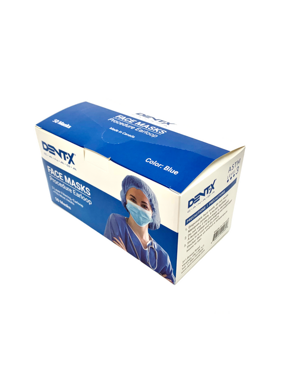 Dent-X 3-Ply Surgical Mask ASTM Level 3 - Box of 50