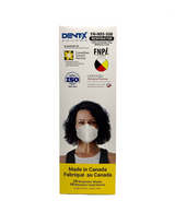 Dent-X FN-N95-508 5 Layer Ear Loop Respirator Mask - Box of 10