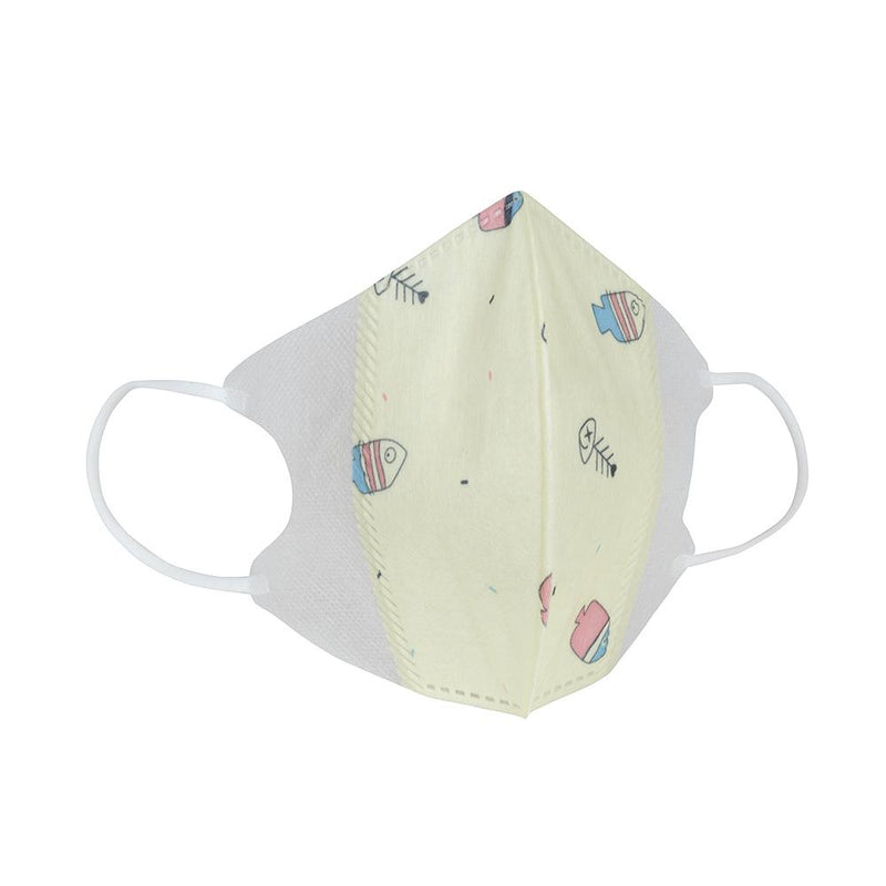 Kids Disposable Masks-Pack of 5 (Ages 3-8)