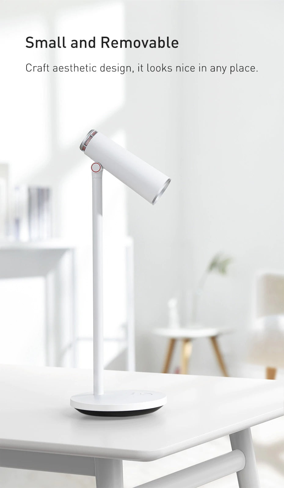 Desk lamp small and removable