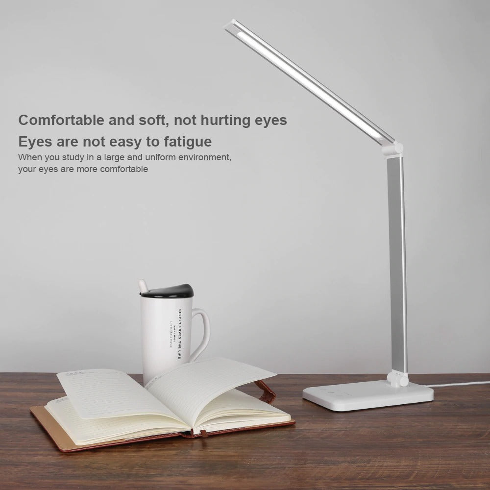 Desk lamp comfortable and soft not hurting eyes