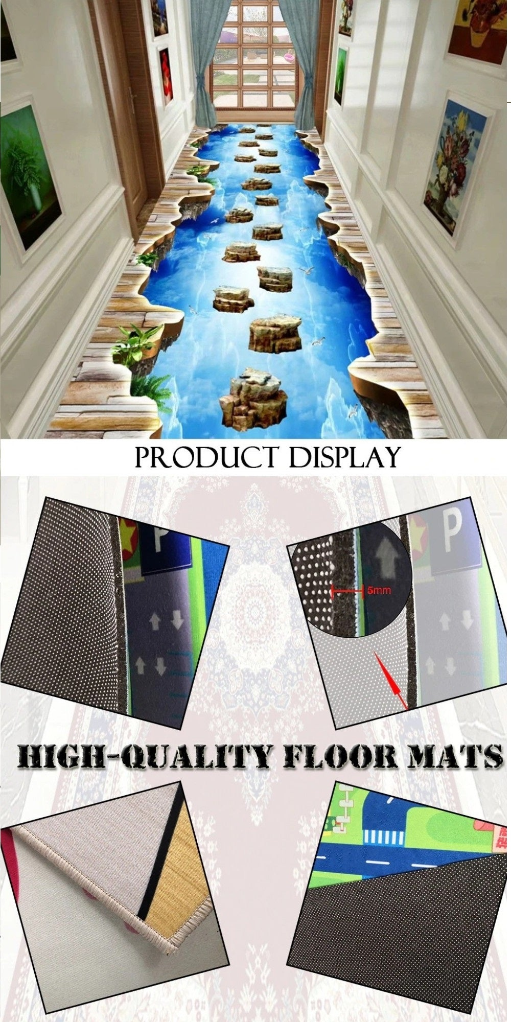 Kids Rugs Product Display High Quality Floor Mats