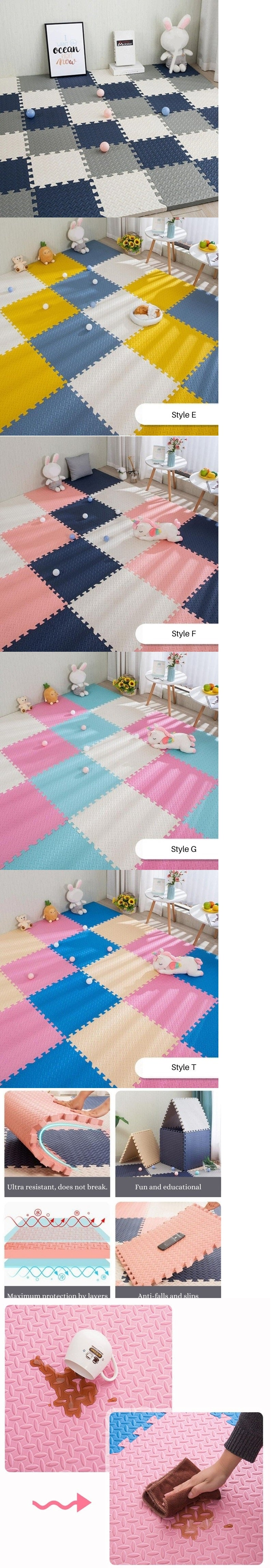 Kids rugs description and styles