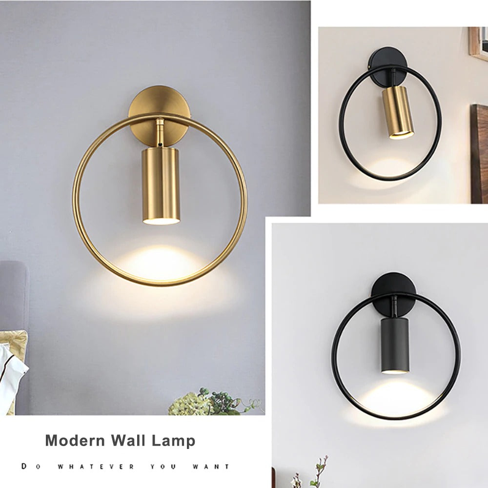 Sconces for the wall black and bronze models