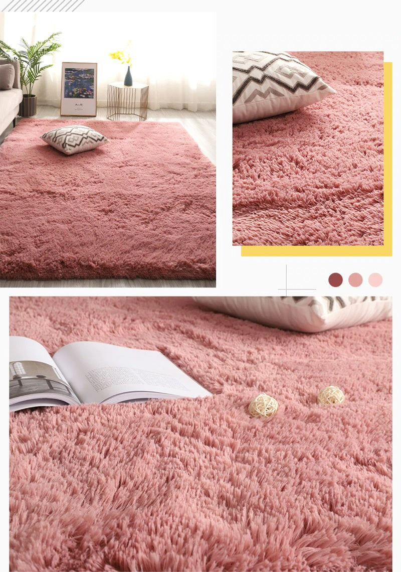 Comfortable carpet for sitting, lying down and walking barefoot