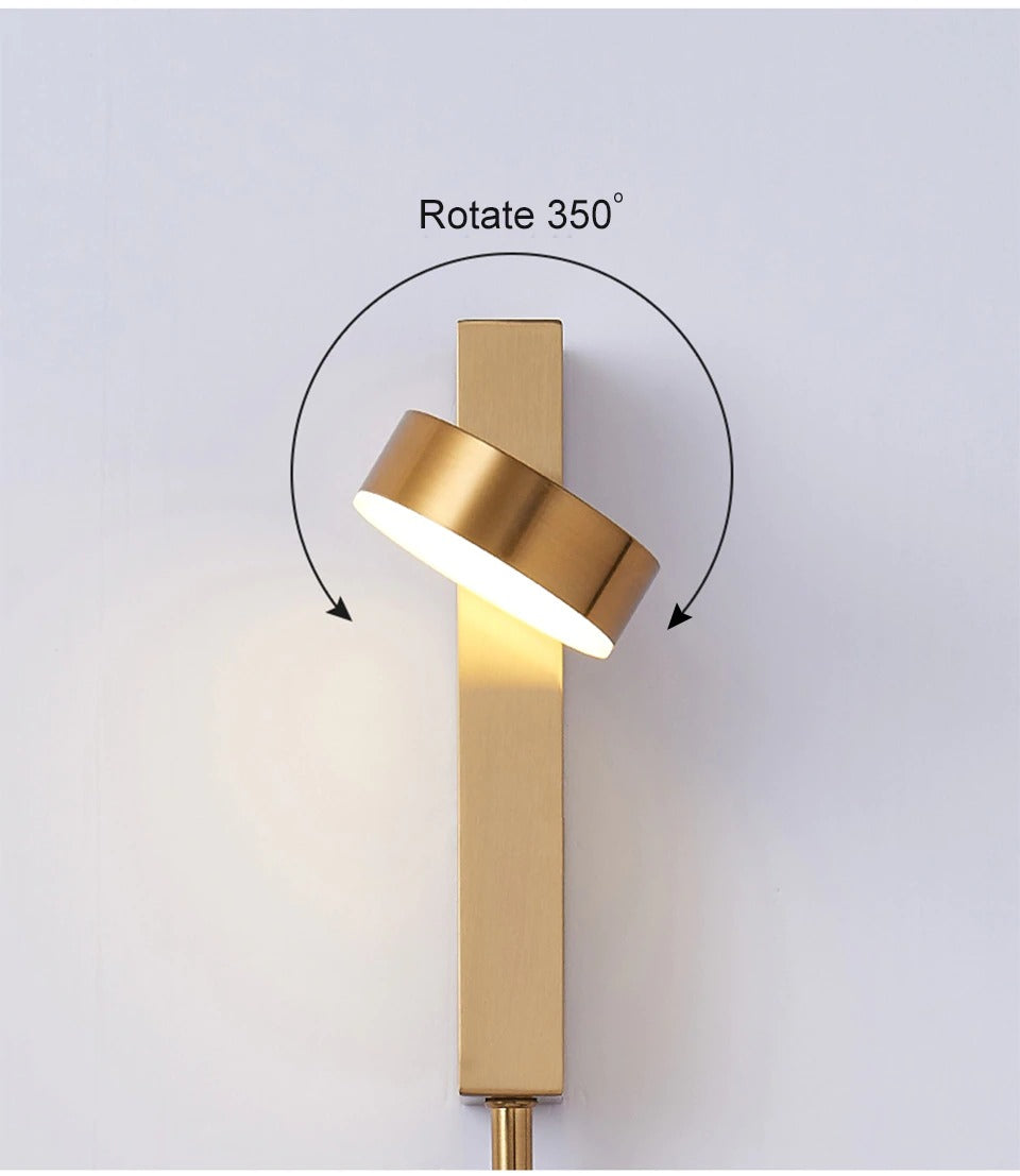 sconces for the wall golden model 360