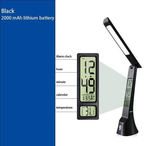Desk lamp black model  2000 mAh lithium battery