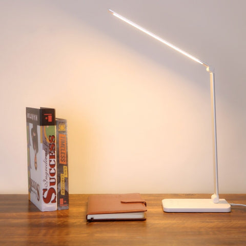 Desk lamp in the office