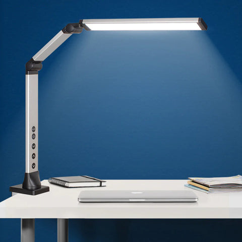 Desk lamp product picture, adjustable, long arm, lamp for office
