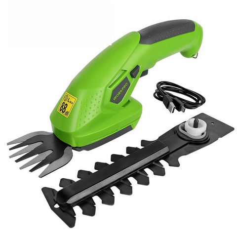 Electric Trimmer 2 in 1 Cordless Garden Tools