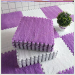Kids Rugs -product image- Violet and white models