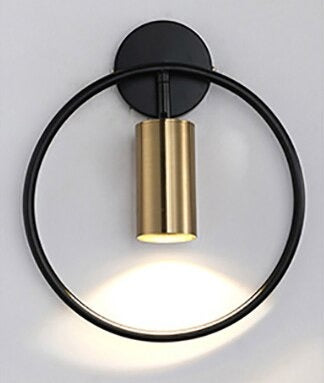 Wall Sconce black/bronze model turn on