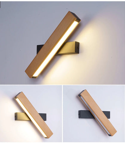 Wall light lamp golden model