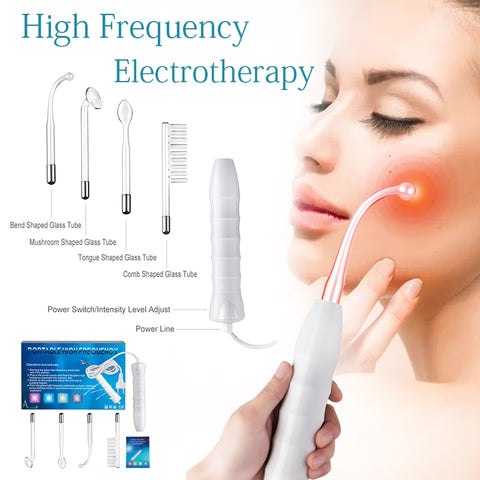 5-in-1 facial Portable High Frequency Device Violet Ray Facial
