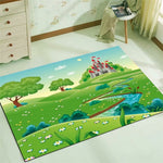 Kids Rug- Beautiful children's landscape with castle