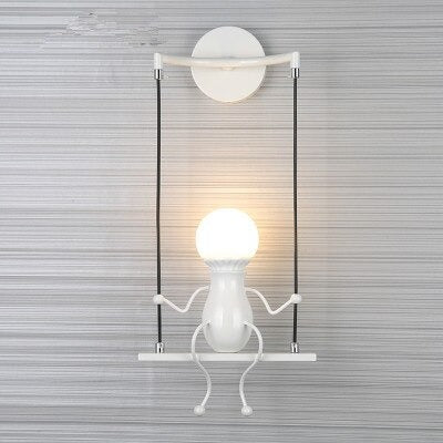 wall sconce white model product image