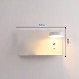 Wall sconce white model features