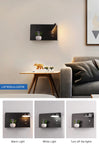 Wall sconce bedroom black model 3