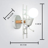 Wall sconce white model