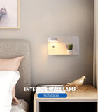 Wall sconce white model bedroom
