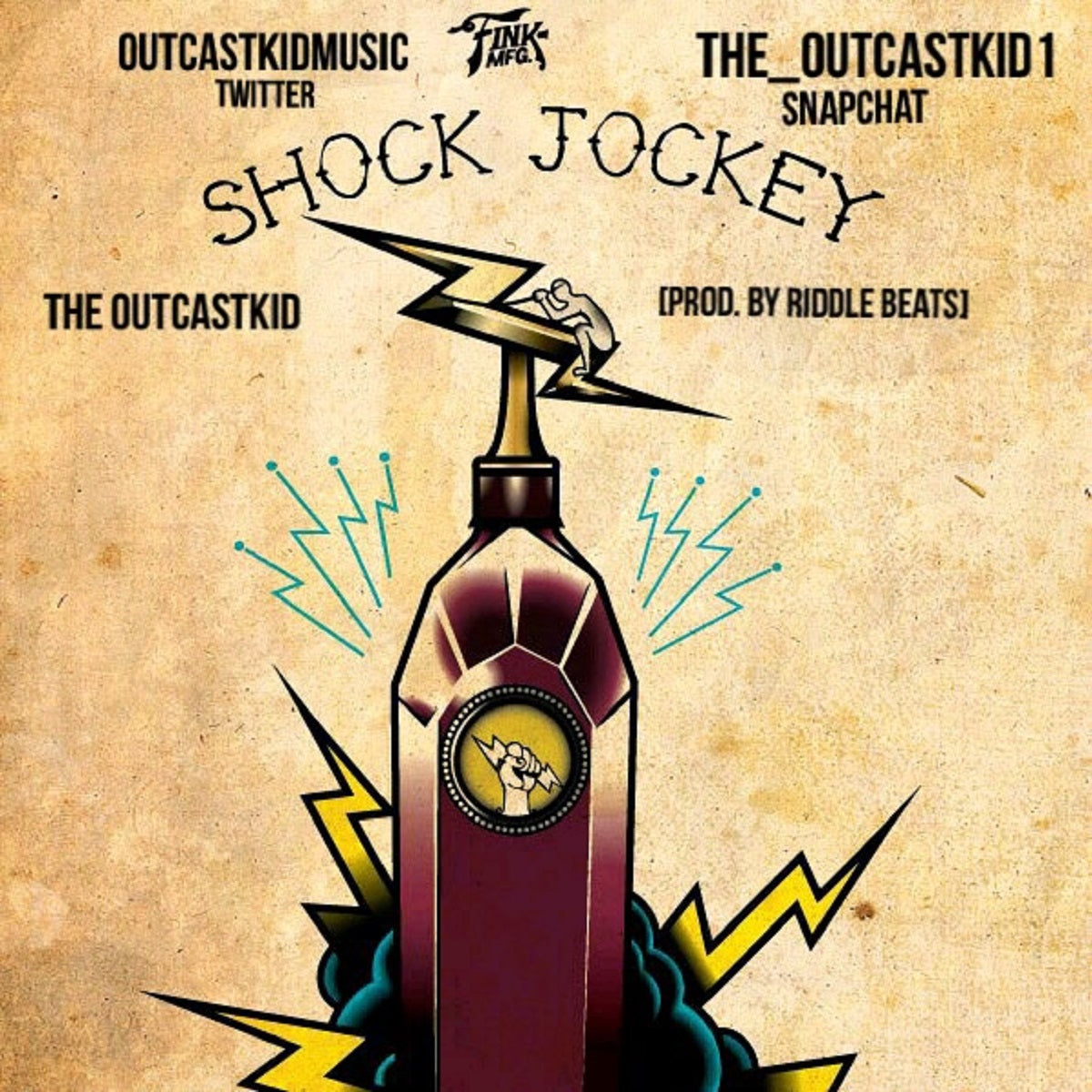 The Outcastkid - 'Shock Jockey'