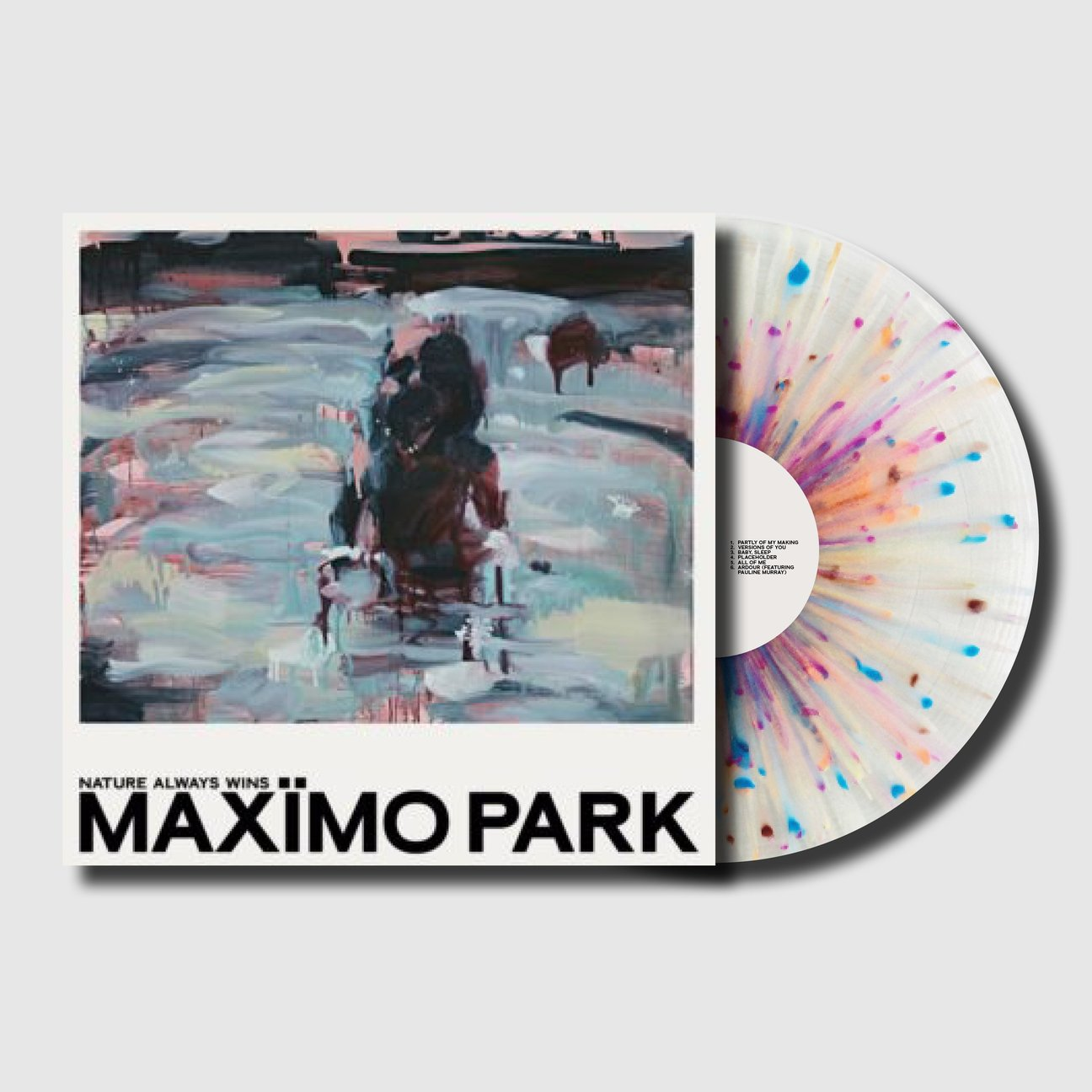 Maximo Park - Nature Always Wins - BROKEN 8 RECORDS
