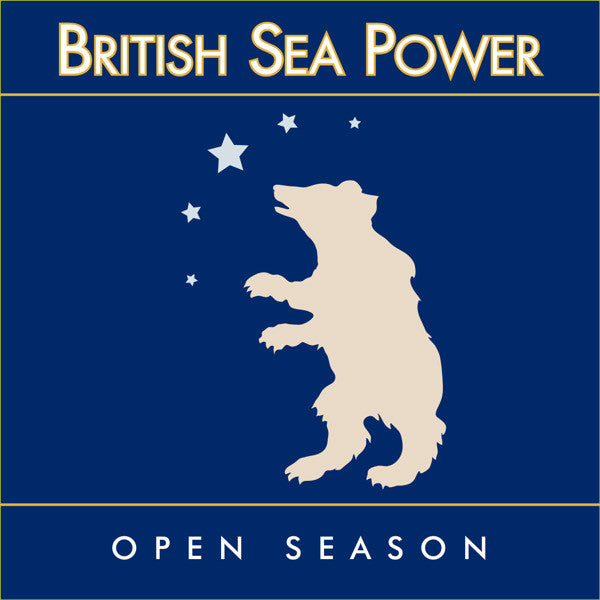 British Sea Power - Open Season - BROKEN 8 RECORDS