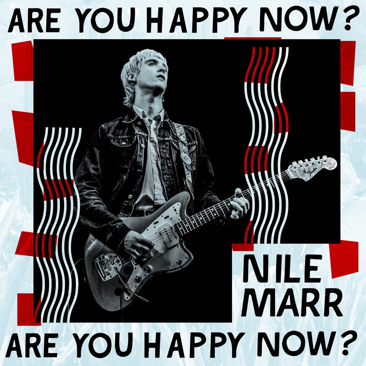 Nile Marr - Are You Happy Now? - BROKEN 8 RECORDS