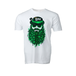 MILLER LITE CLASSIC BEARDED MAN T-SHIRT