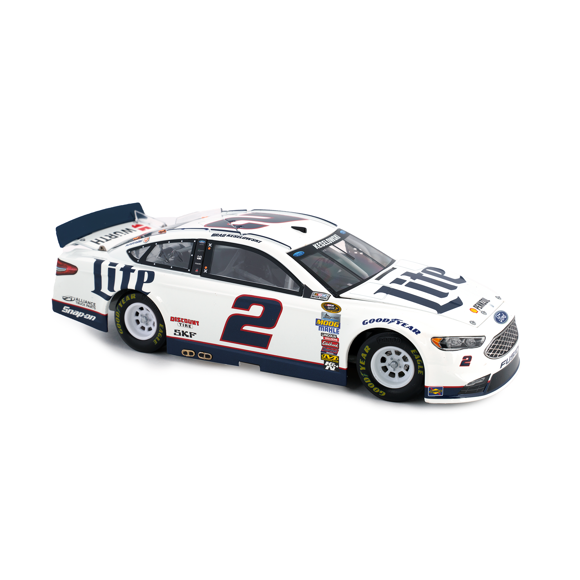 MILLER LITE DIE CAST CAR 1:24