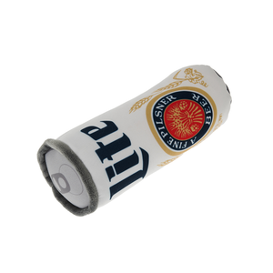 MILLER LITE CAN PLUSH DOG TOY