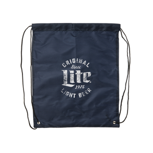 MILLER LITE DRAW-STRING BAG