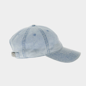 MILLER LITE DENIM BALL CAP