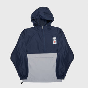 CHAMPION® MILLER LITE PACKABLE COLOR BLOCK ANORAK