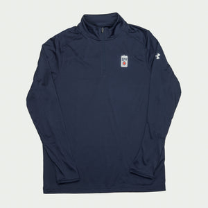 MENS UNDER ARMOUR® MILLER LITE 1/4 ZIP PULLOVER