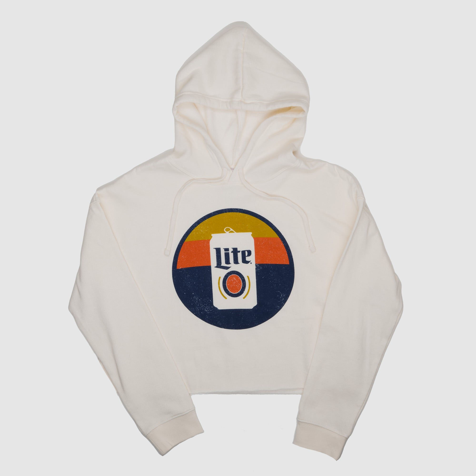 WOMENS SUNSET CROP HOODIE