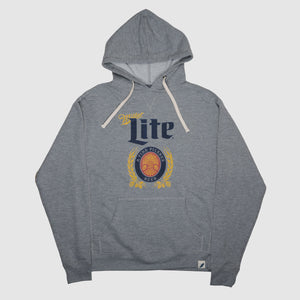 MILLER LITE FRENCH TERRY UNISEX HOODIE