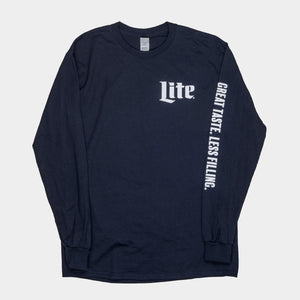 MILLER LITE UNISEX LONG SLEEVE T-SHIRT