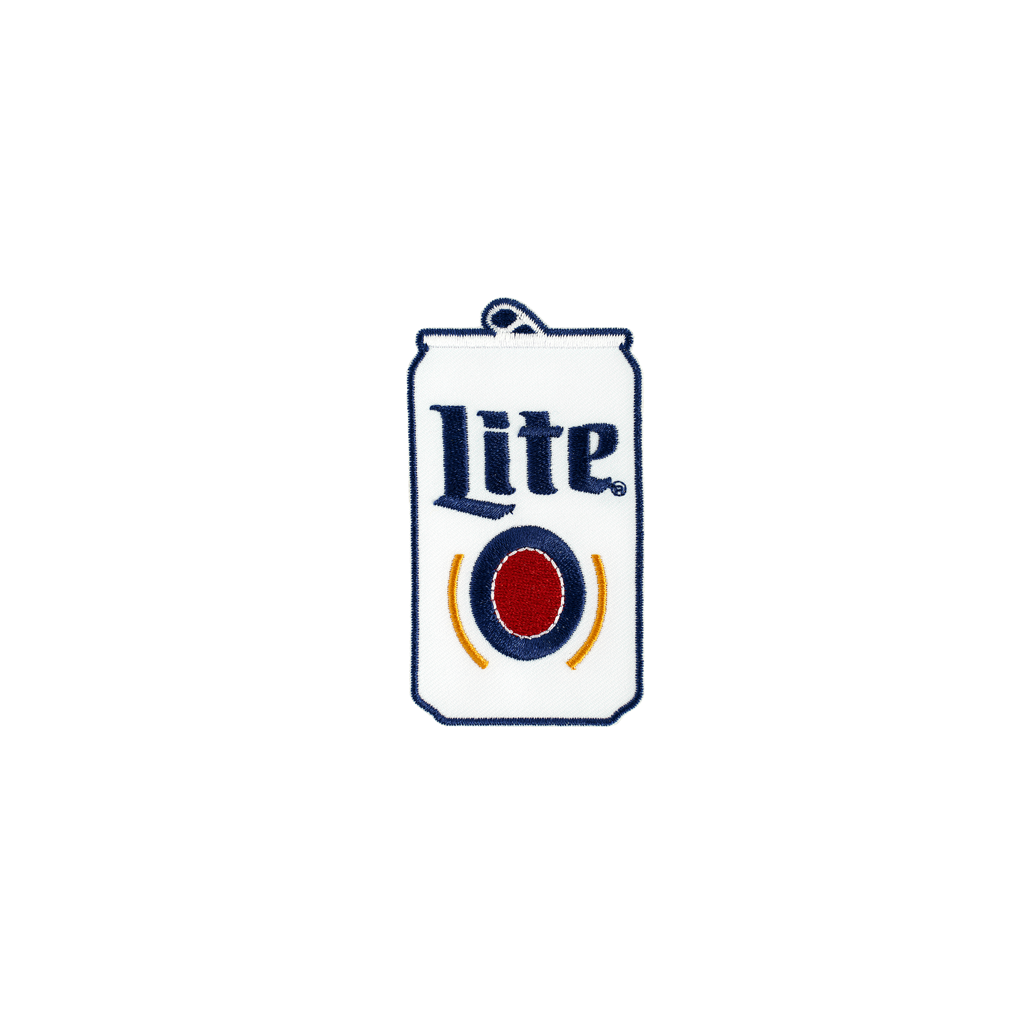 MILLER LITE IRON-ON PATCH