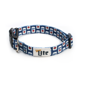 MILLER LITE DOG COLLAR