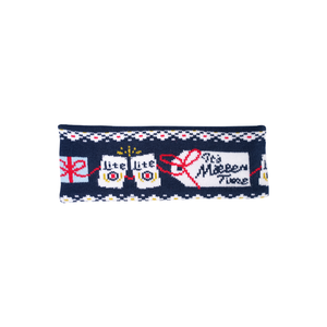 MILLER LITE UGLY SWEATER KNIT HEADBAND