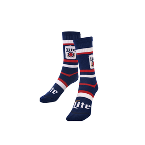 MILLER LITE MULTI-STRIPE SOCKS