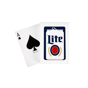 MILLER LITE PLAYING CARDS