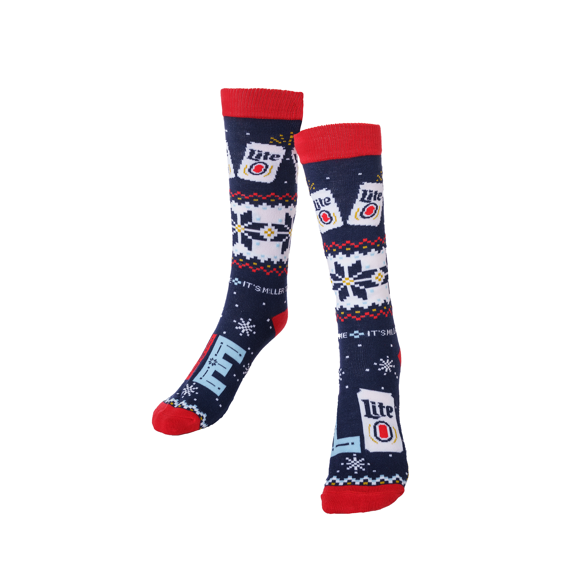 MILLER LITE UGLY SWEATER KNIT SOCKS