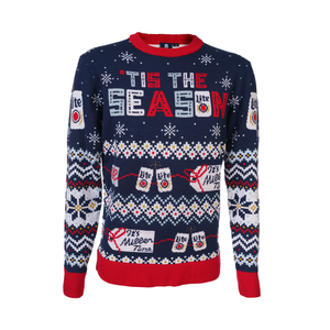 MILLER LITE UGLY KNIT SWEATER